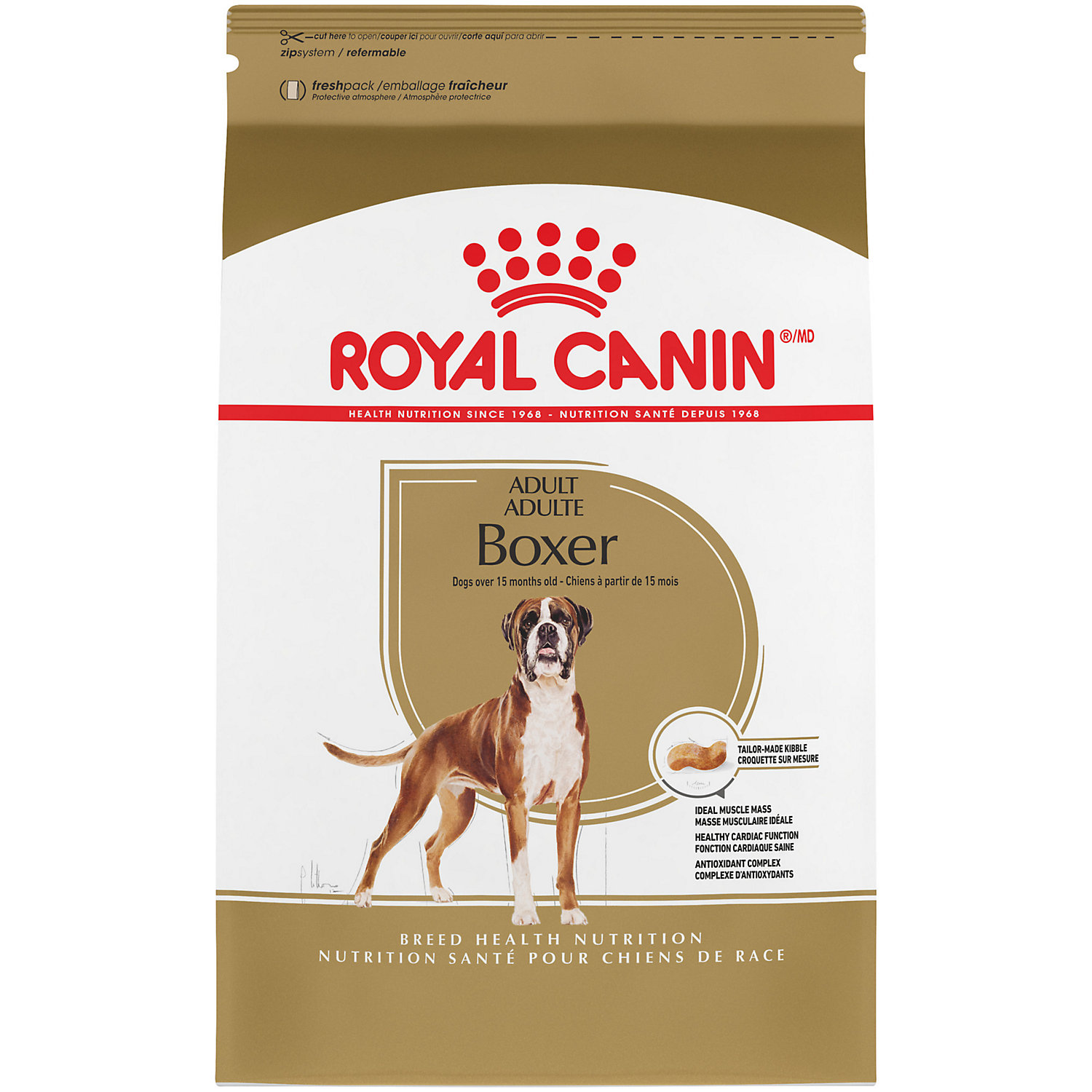 upc 030111520449 royal canin breed health nutrition boxer adult dog food 30 lbs. Black Bedroom Furniture Sets. Home Design Ideas
