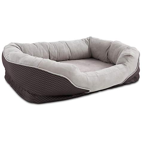 Orthopedic Peaceful Nester Gray Dog Bed