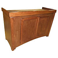 R&J Enterprises 48X13 Cherry Birch Calypso Cabinet, 48.75' L X 13' W X 32' H