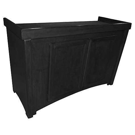 R&J Enterprises 48X18 Black Calypso Series 75/90/110 Cabinet