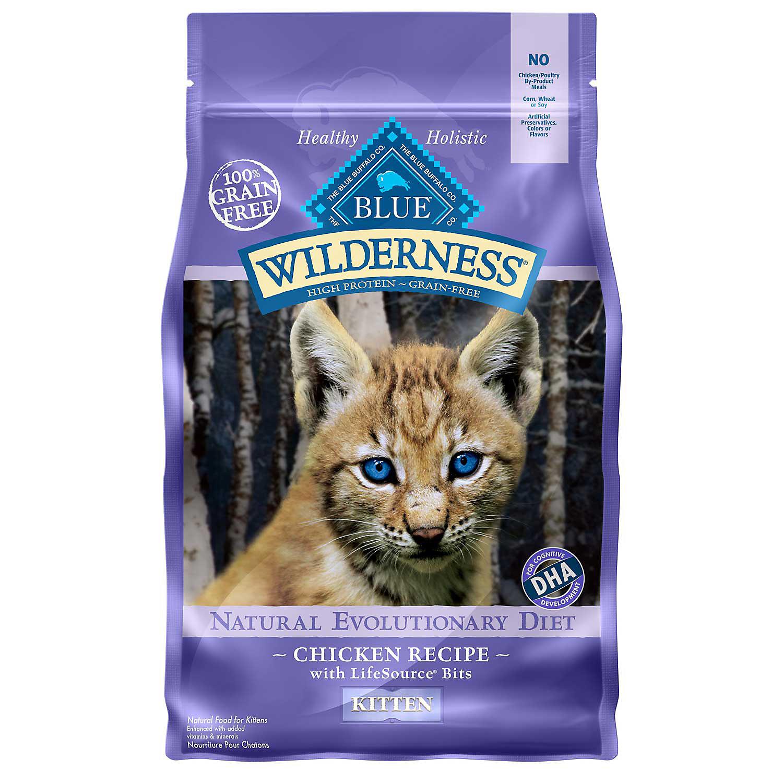 Blue Buffalo Wilderness Grain Free Kitten Food 2 Lbs.