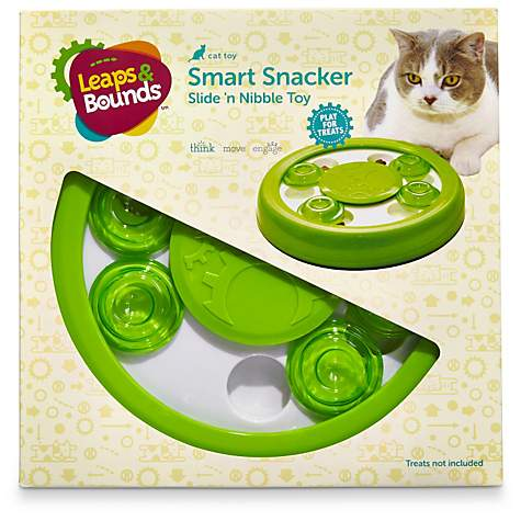 Leaps & Bounds Slide 'n Nibble Cat Treat Toy