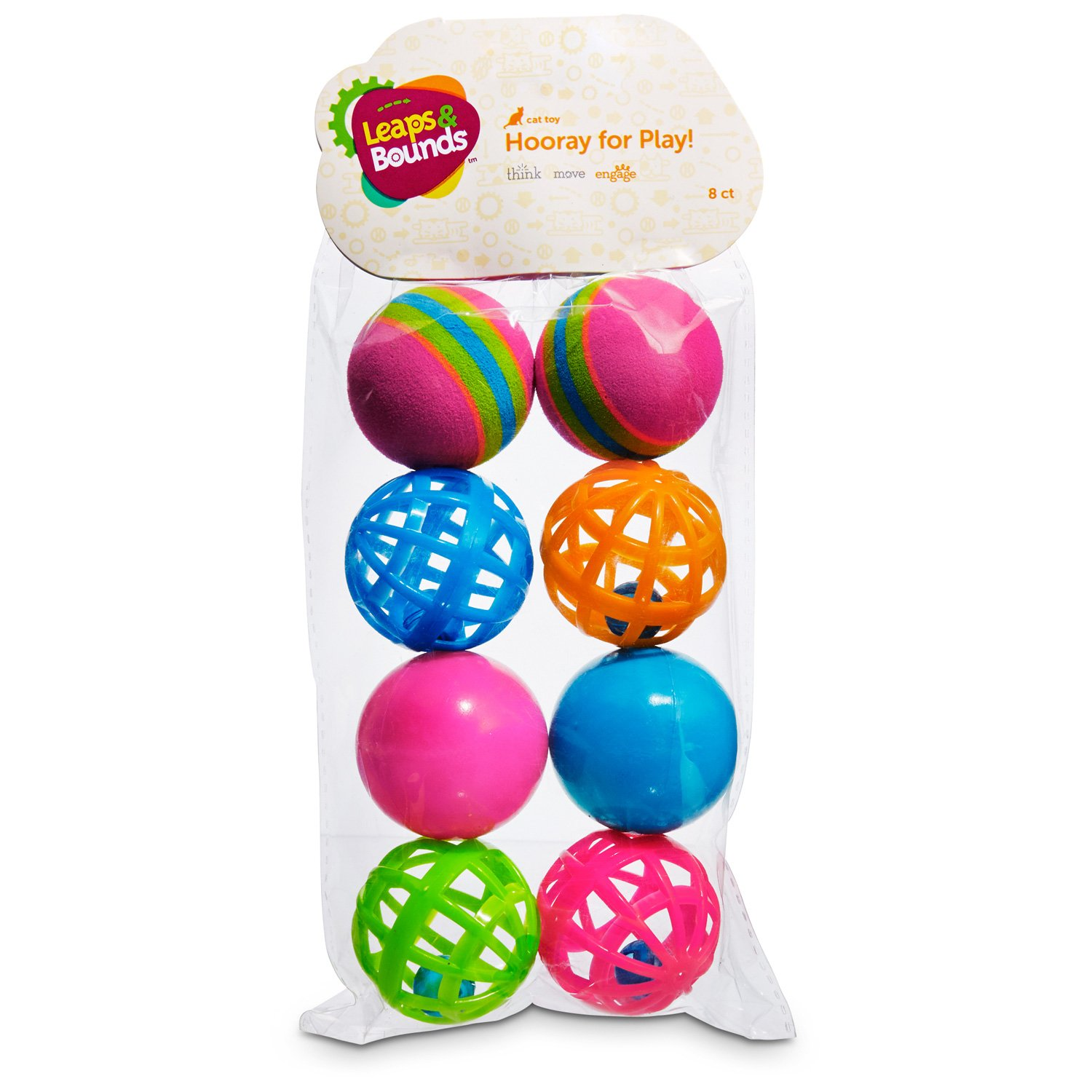 Cat Toys Balls : Leaps bounds variety pack of balls cat toys petco