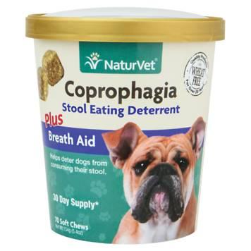 Naturvet Coprophagia Stool Eating Deterrent Dog Chews Petco