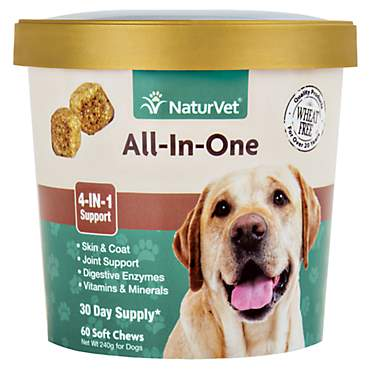 NaturVet All-In-One Dog Soft Chews