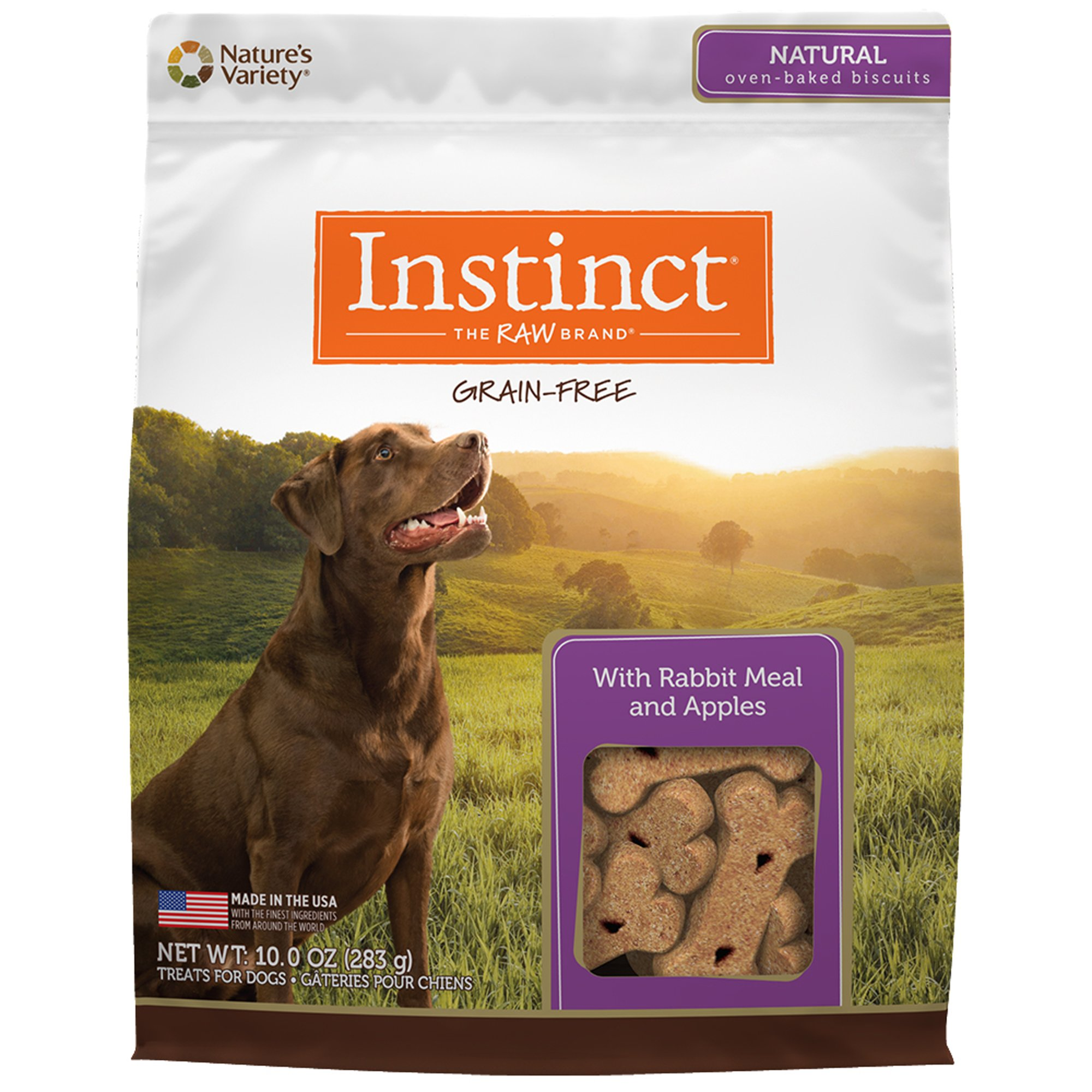 Instinct Grain Free Rabbit Amp Apples Biscuits By Nature S