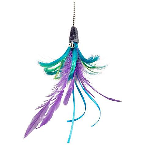 Leaps & Bounds EZ Snap Flip Feather Cat Teaser Toy Refill