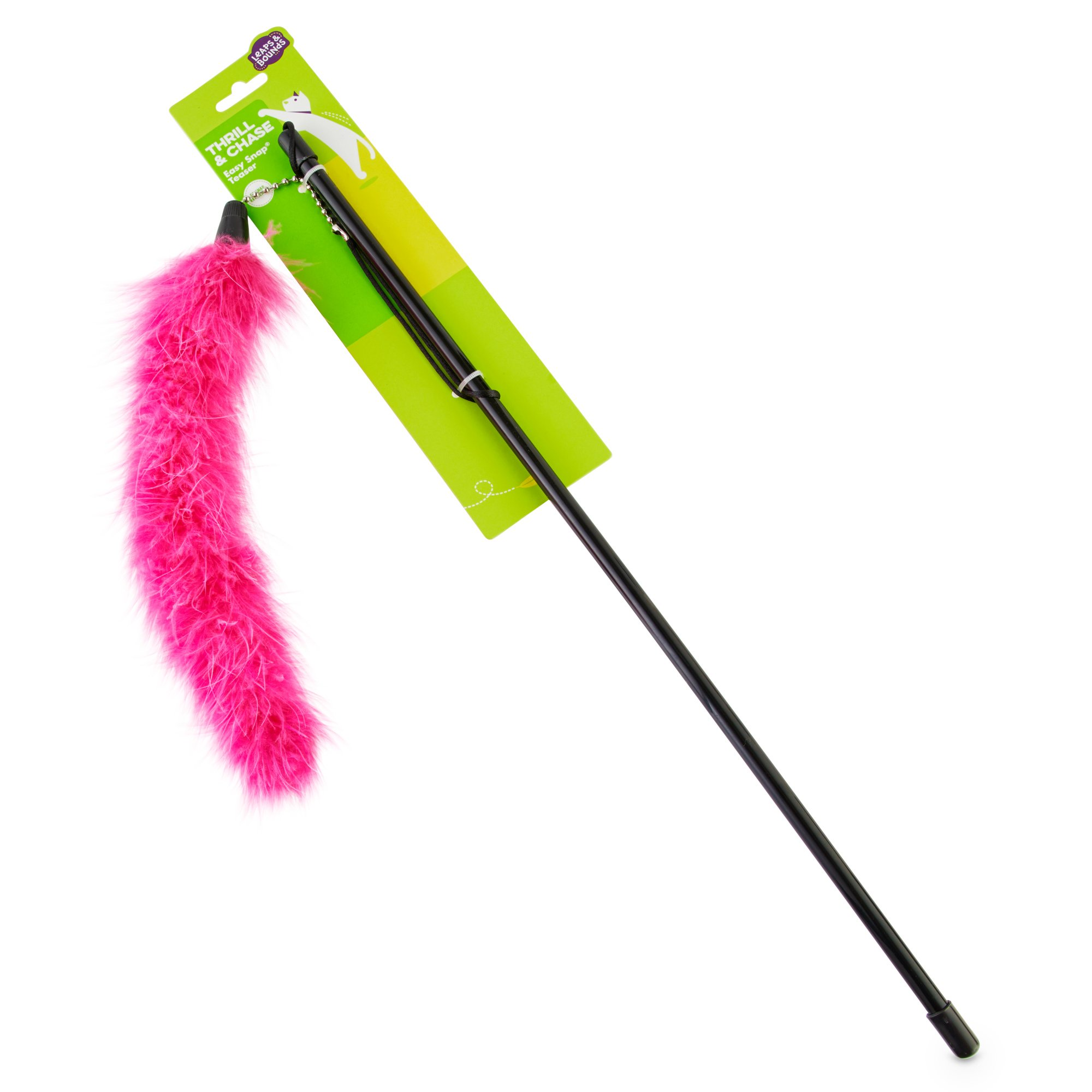 Leaps & Bounds EZ Snap Bright Pink Teaser Wand