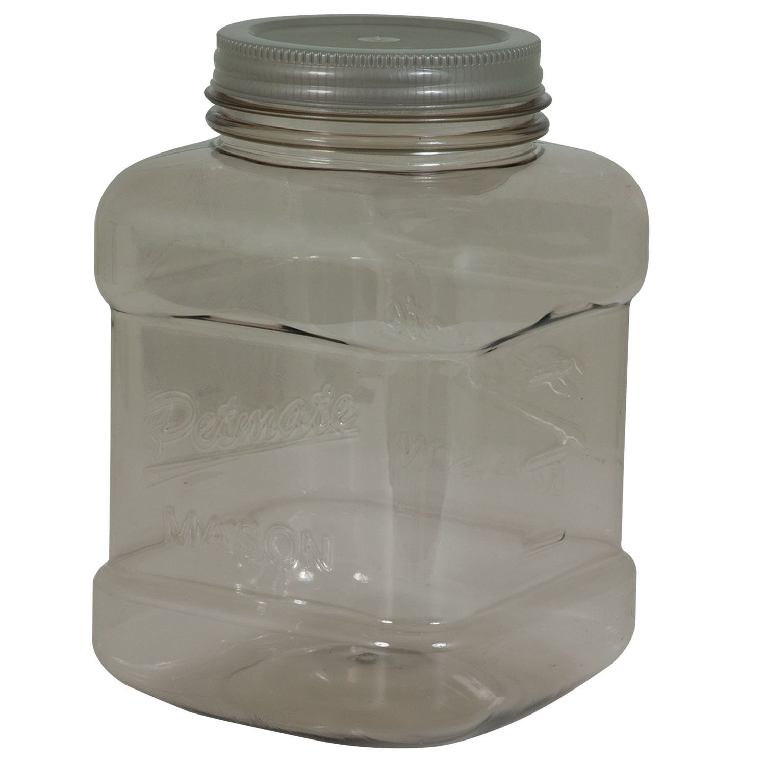 Petmate Plastic Mason Jar Pet Food Storage