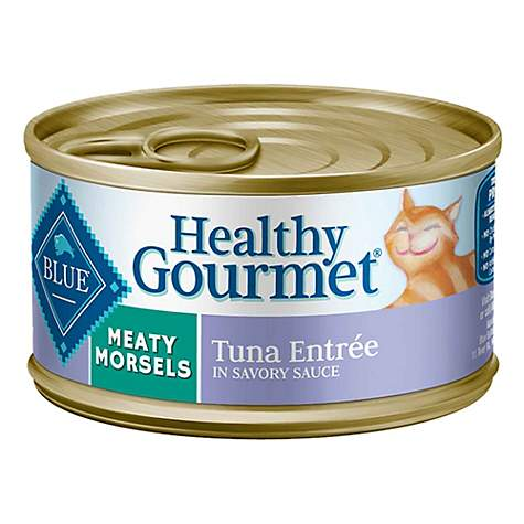 Blue Buffalo Blue Healthy Gourmet Meaty Morsels Tuna Entree Wet Cat Food