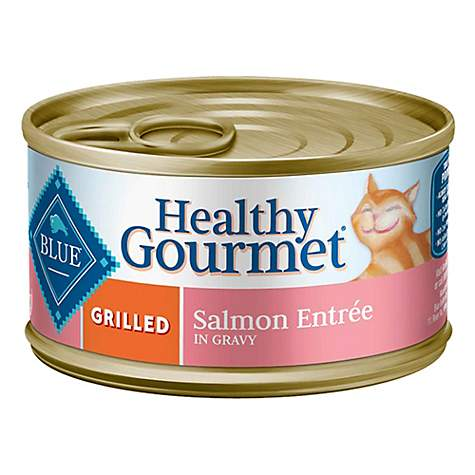 Blue Buffalo Blue Healthy Gourmet Grilled Salmon Entree Wet Cat Food
