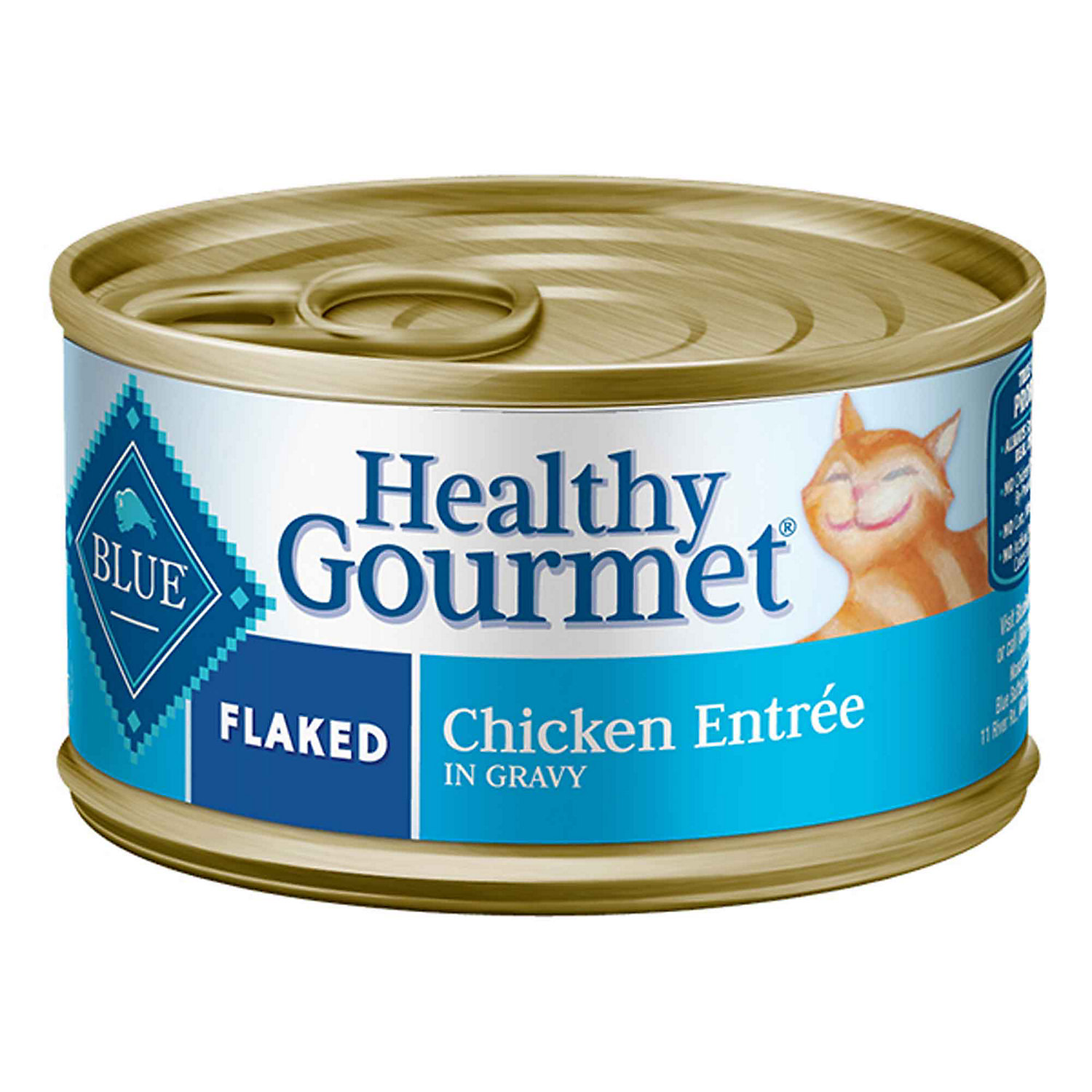 Blue Buffalo Healthy Gourmet Flaked Chicken Adult Canned Cat Food 3 Oz. Case Of 24