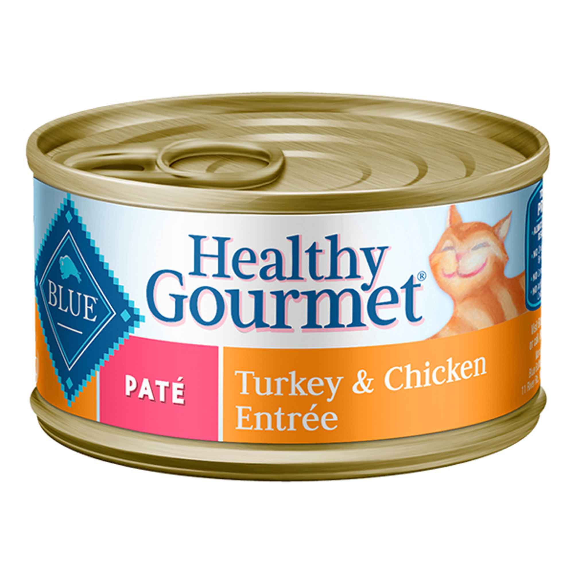 Blue Buffalo Healthy Gourmet Cat Food Turkey Chicken