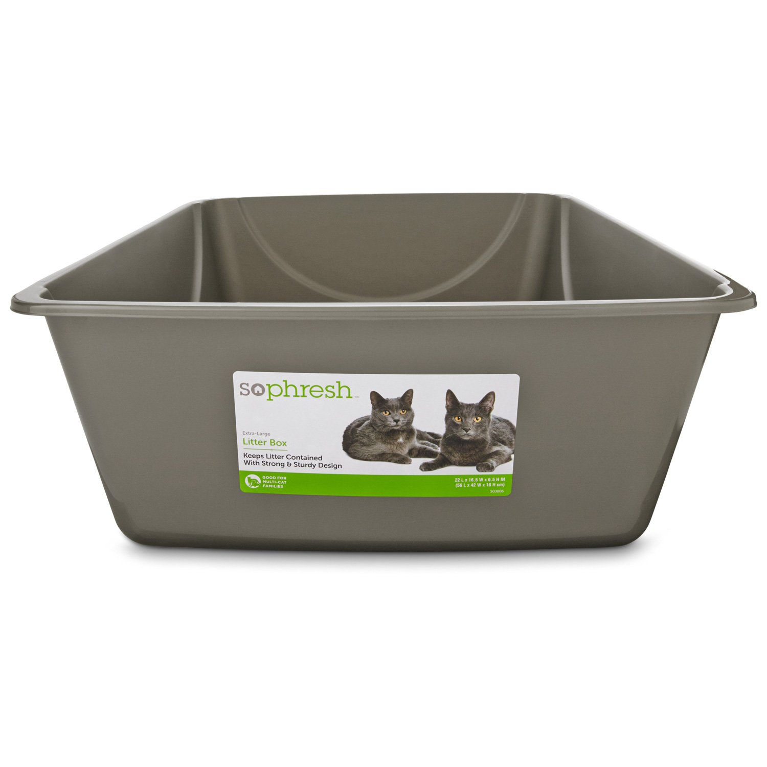 These litter boxes will help remove your cat's waste after each usage, providing them with clean litter as well as controlling the odor from the box. Keep your pet happy and healthy with one the litter boxes and enclosures from Wayfair.