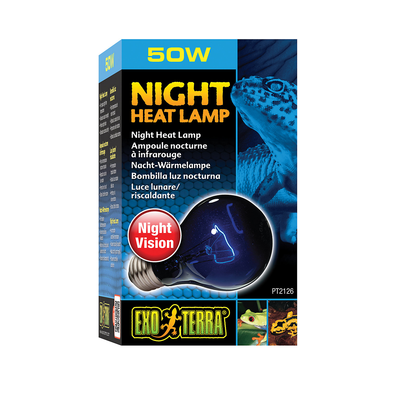 Exo Terra Night Heat Lamp 50w Blue