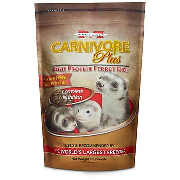 Marshall Pet Products Carnivore Plus Ferret Diet