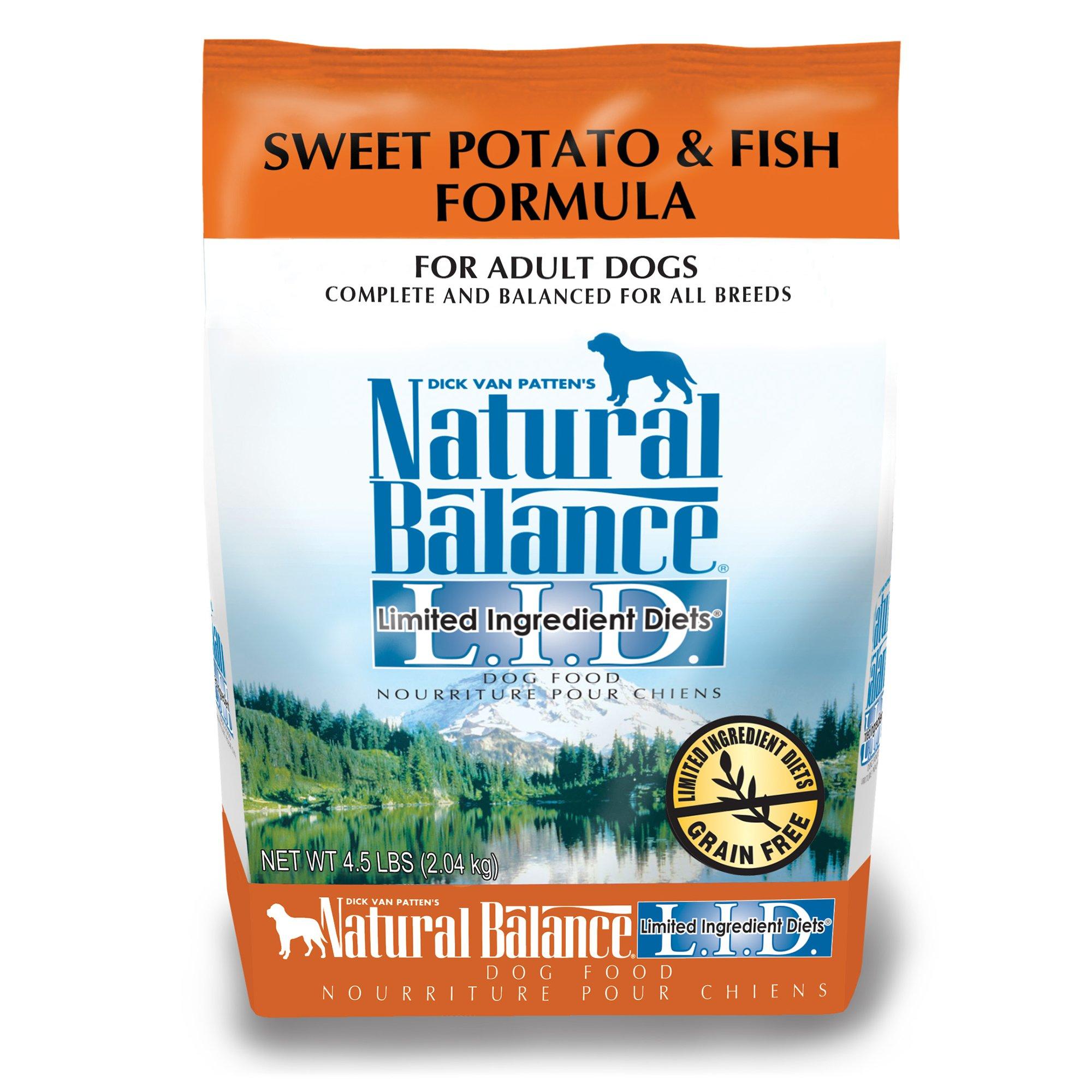 Natural Balance L.I.D. Limited Ingredient Diets Sweet Potato & Fish Dog Food
