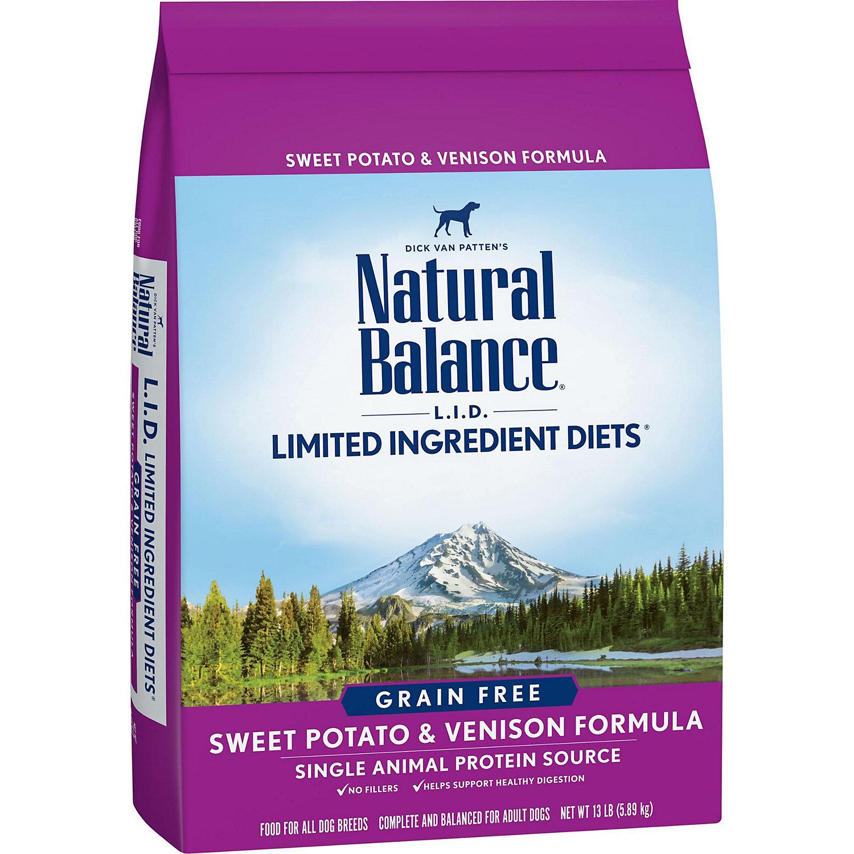 Natural Balance L.i.d. Limited Ingredient Diets Sweet Potato Venison Dog Food