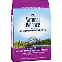 Natural Balance L.I.D. Limited Ingredient Diets Sweet Potato & Venison Grain Free Dog Food