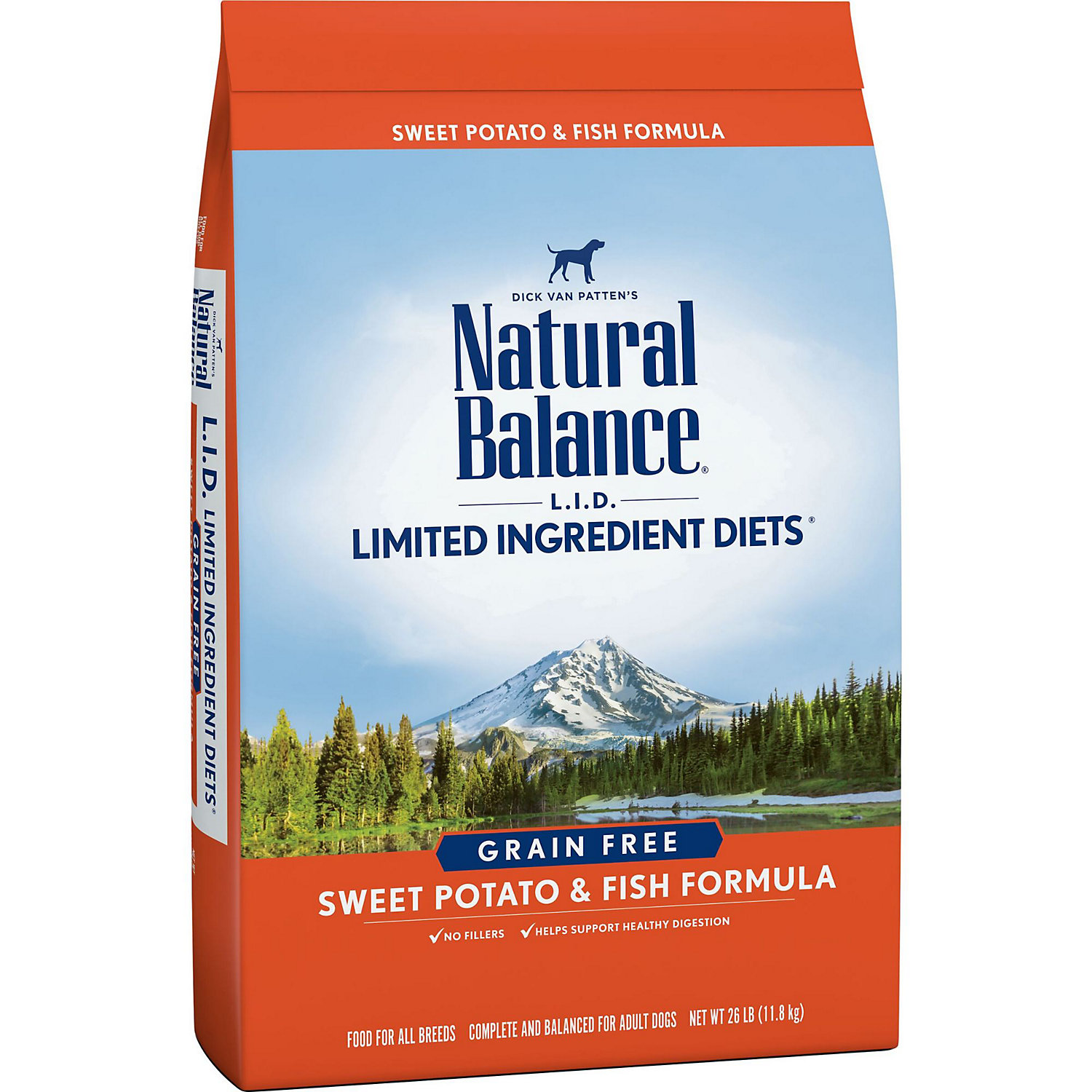 Natural Balance L.i.d. Limited Ingredient Diets Sweet Potato Fish Dog Food 26 Lbs.