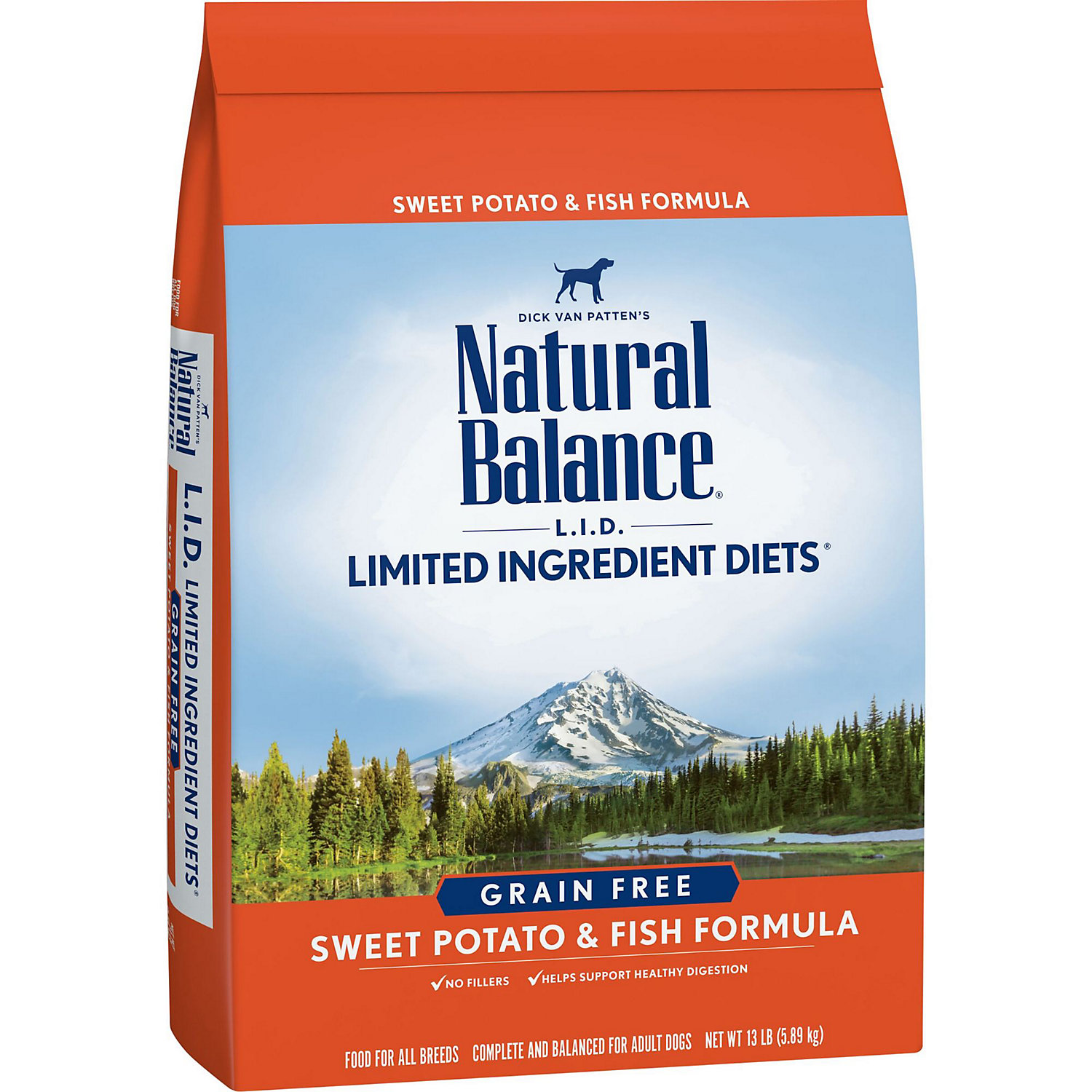 Natural Balance L.i.d. Limited Ingredient Diets Sweet Potato Fish Dog Food 13 Lbs.