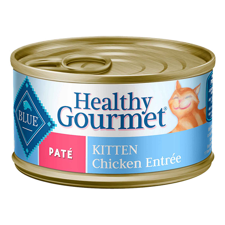 Blue Buffalo Healthy Gourmet Chicken Canned Kitten Food 3 Oz. Case Of 24