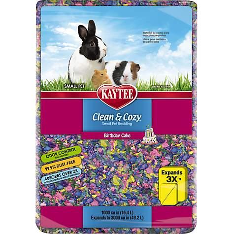 Kaytee Clean Cozy Birthday Cake Small Animal Bedding