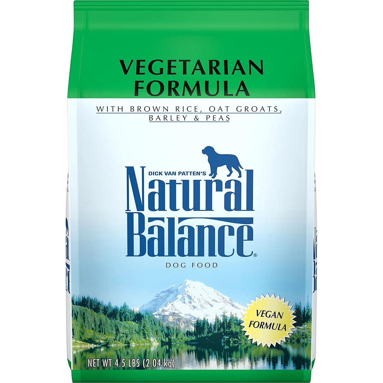Natural Balance Vegetarian Formula Dog Food 4.5 Lbs.