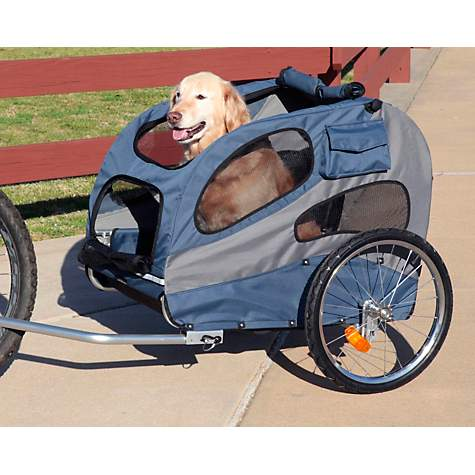 Solvit HoundAbout II Pet Bicycle Trailer