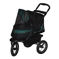 Pet Gear NV No-Zip Pet Stroller in Sky Line