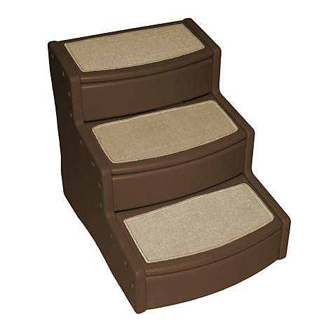 Pet Gear Extra Wide Easy Step III Pet Stairs In Chocolate | Petco