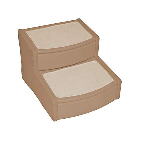 Pet Gear Extra Wide Easy Step II Pet Stairs In Tan | Petco