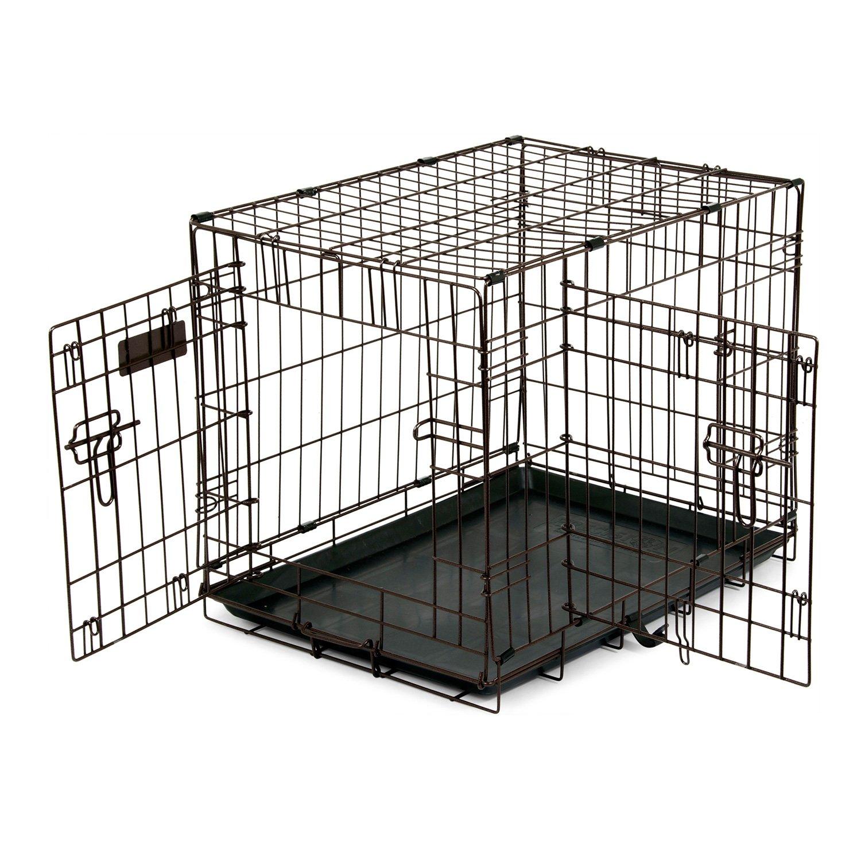 precision pet  door copper hammertone dog crate  petco - precision pet  door copper hammertone dog crate