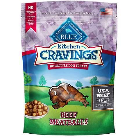 Blue Buffalo Blue Kitchen Cravings Beef Meatballs Dog Treats