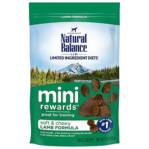Natural Balance Mini Rewards Lamb Dog Treats Petco