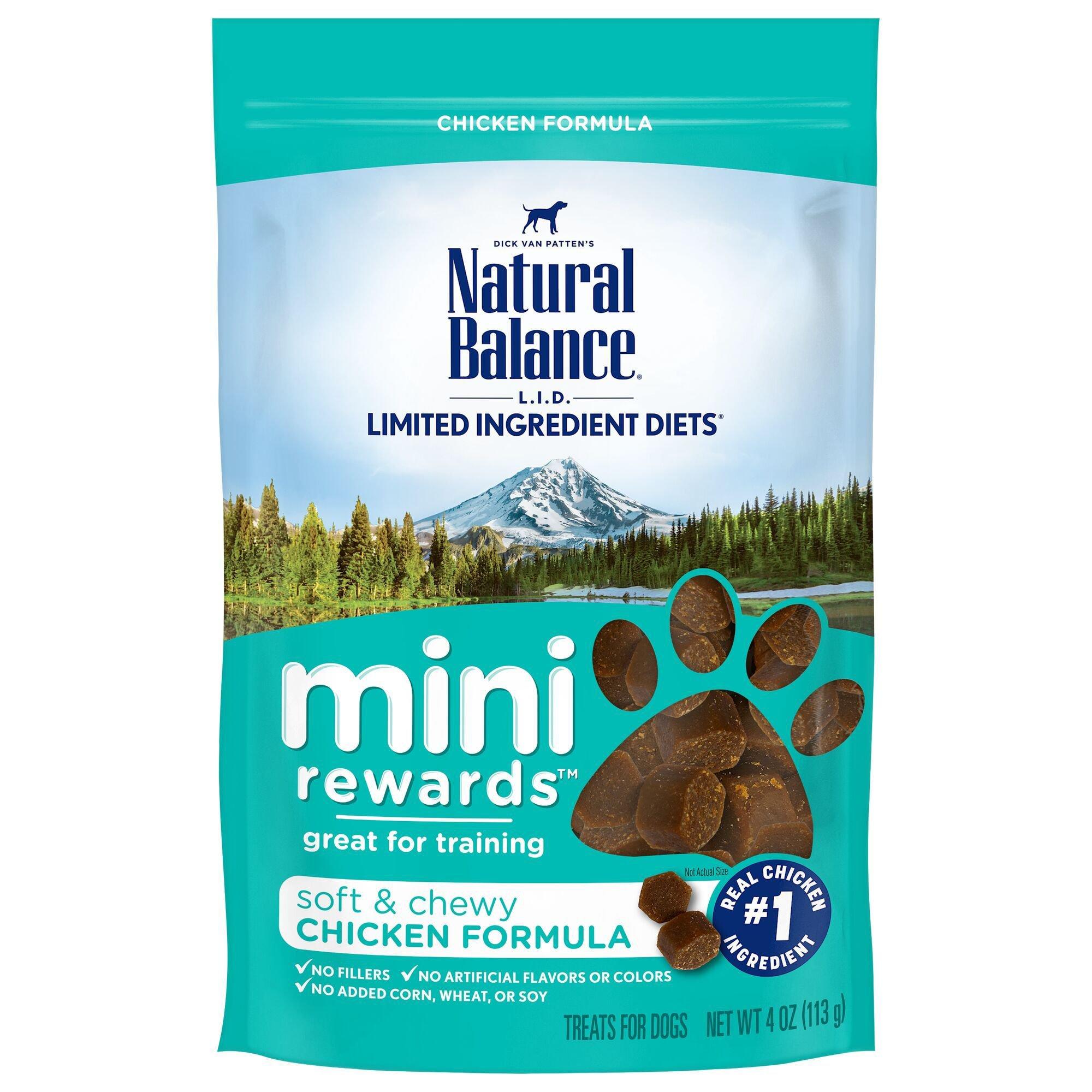 Natural Balance Mini Rewards Chicken Dog Treats