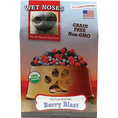 Wet Noses Grain Free Berry Blast Dog Treats