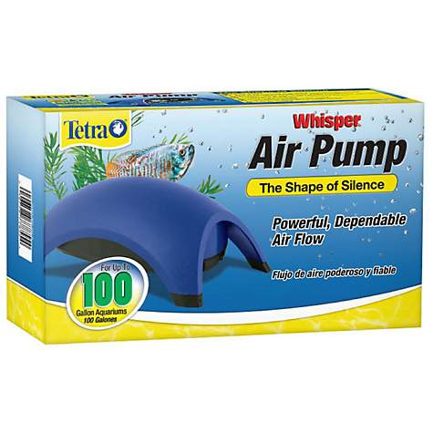 Tetra Whisper Aquarium Air Pump, For 100 gallon Aquariums