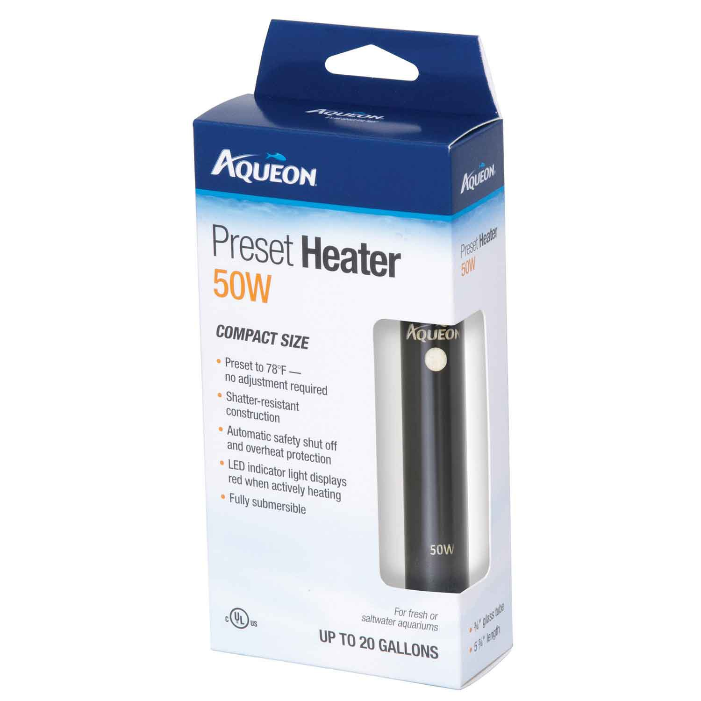 50w aquarium fish tank heater - Aqueon Preset Heater 50w