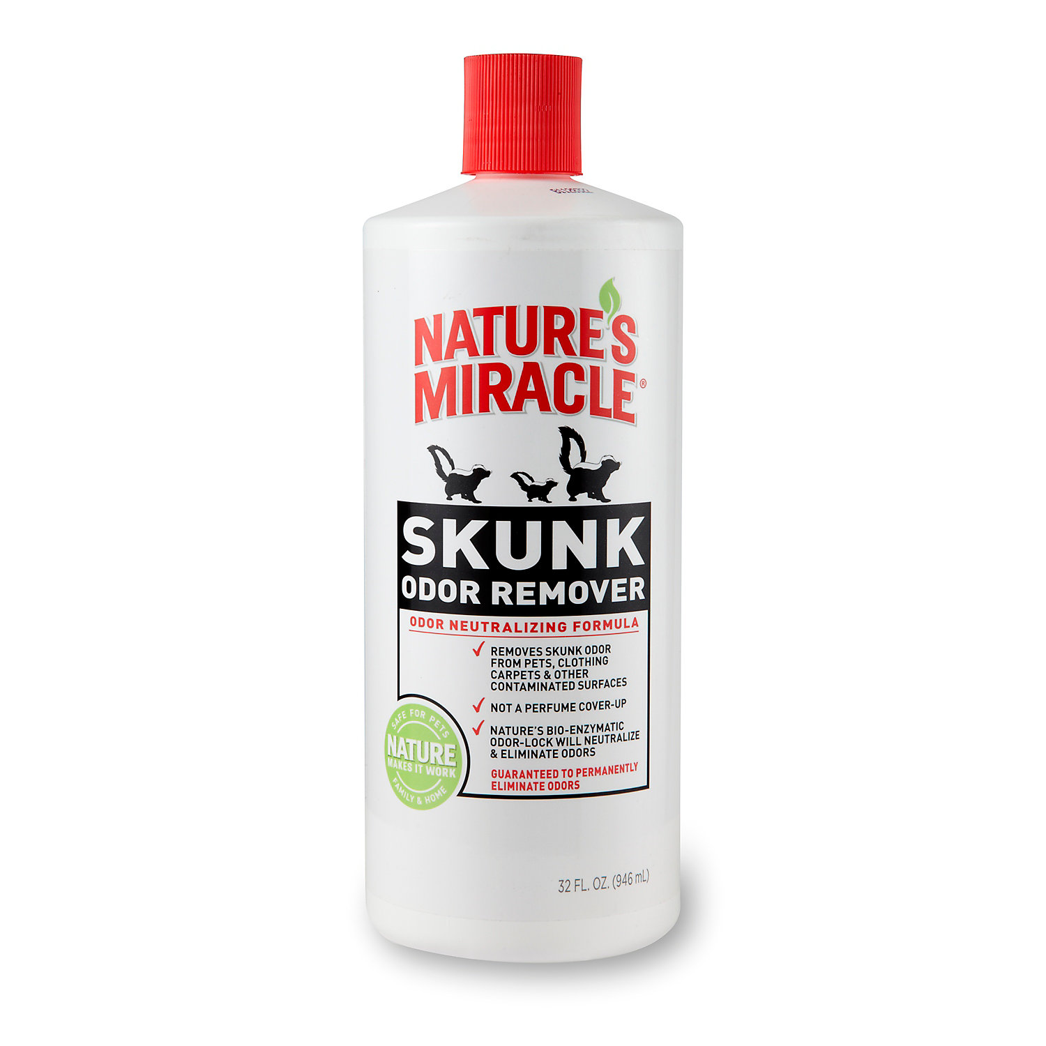 Nature's Miracle Skunk Odor Remover, 32 oz.