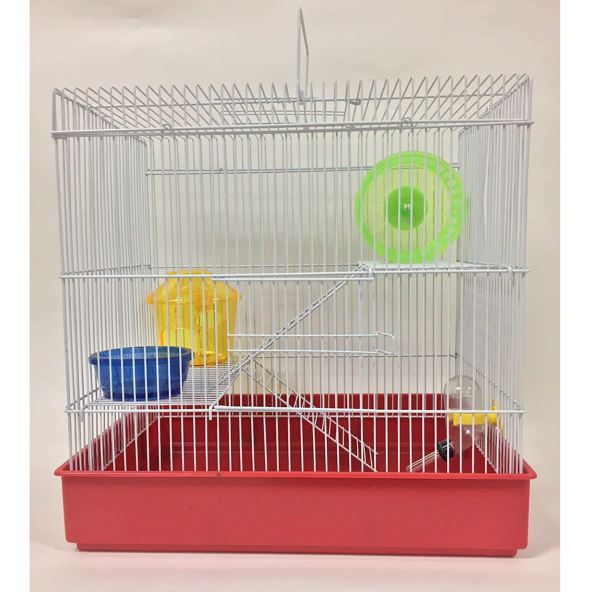 Yml 3 Level Red Hamster Cage Petco