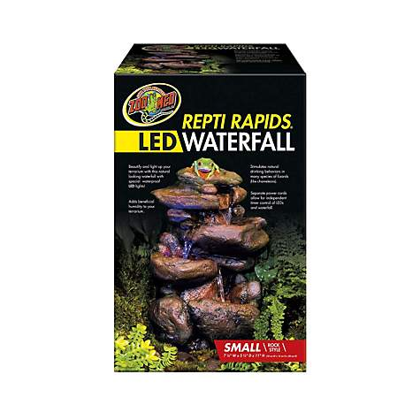 Zoo Med Repti Rapids LED Waterfall