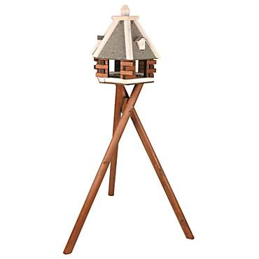 Trixie Nordic Wooden Bird Feeder & Stand