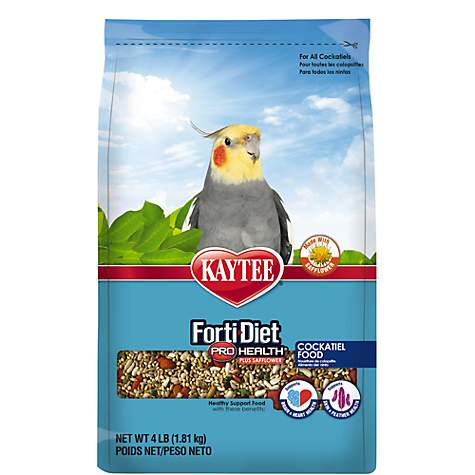 Kaytee Forti-Diet Pro Health Safflower Cockatiel Food