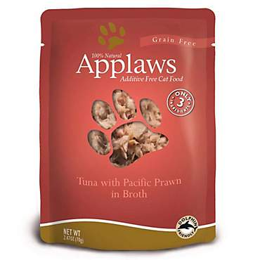 Applaws Tuna with Pacific Prawn in Broth Pouch Grain Free Cat Food