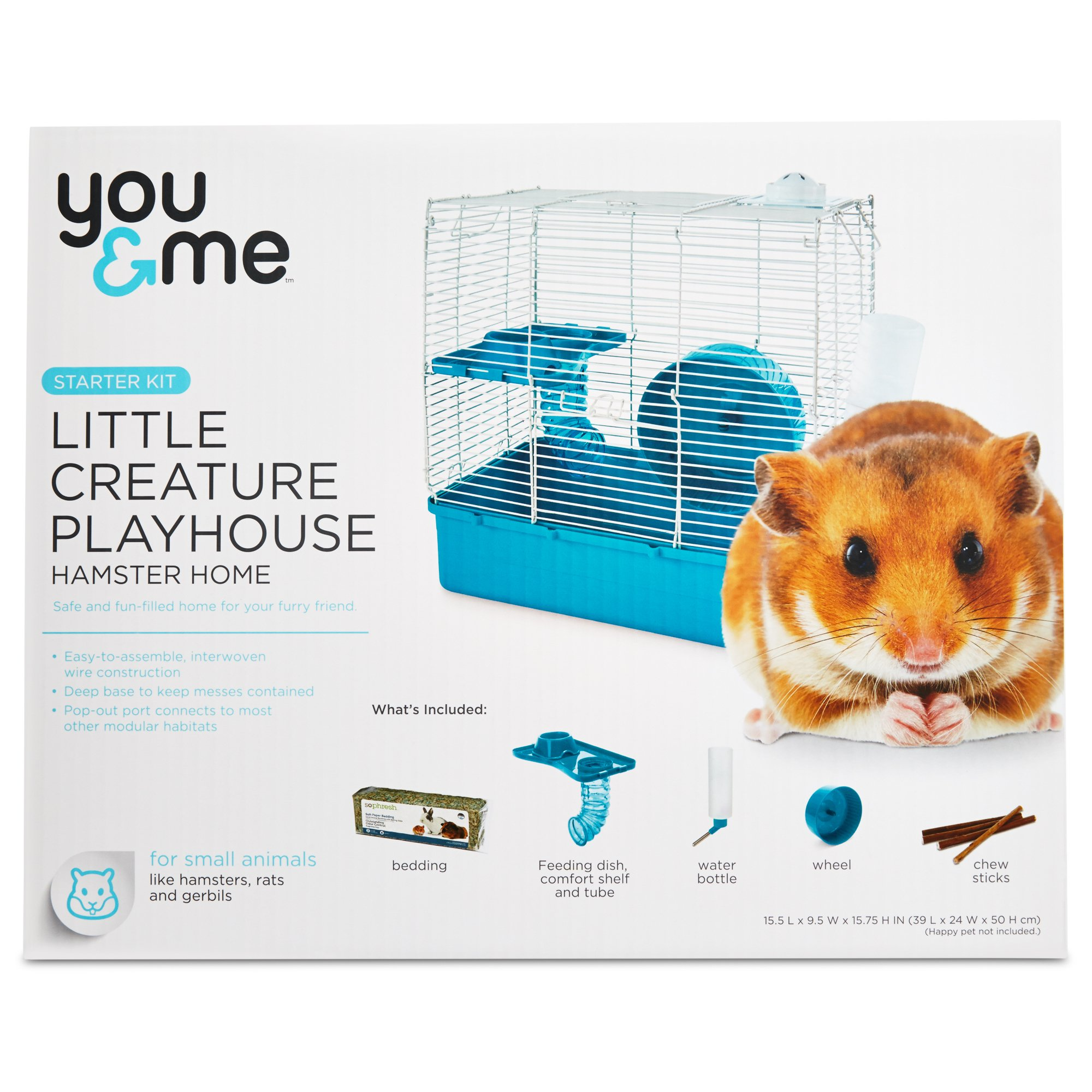 You & Me Hamster Starter Kit