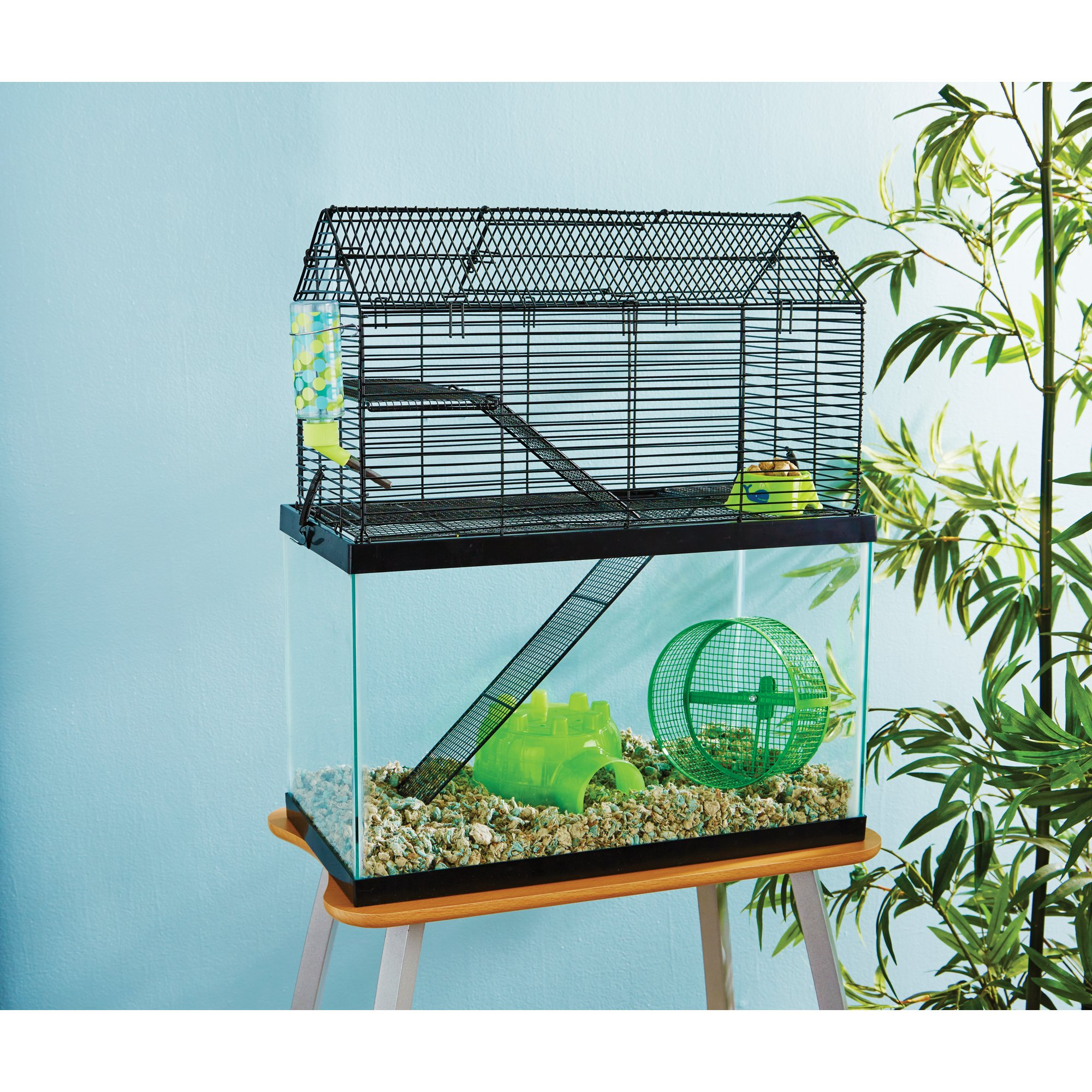 You me small animal high rise tank topper petco for Small guinea pig cages for sale