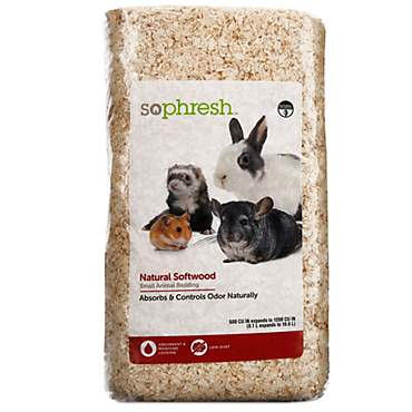 So Phresh Natural Softwood Small Animal Bedding