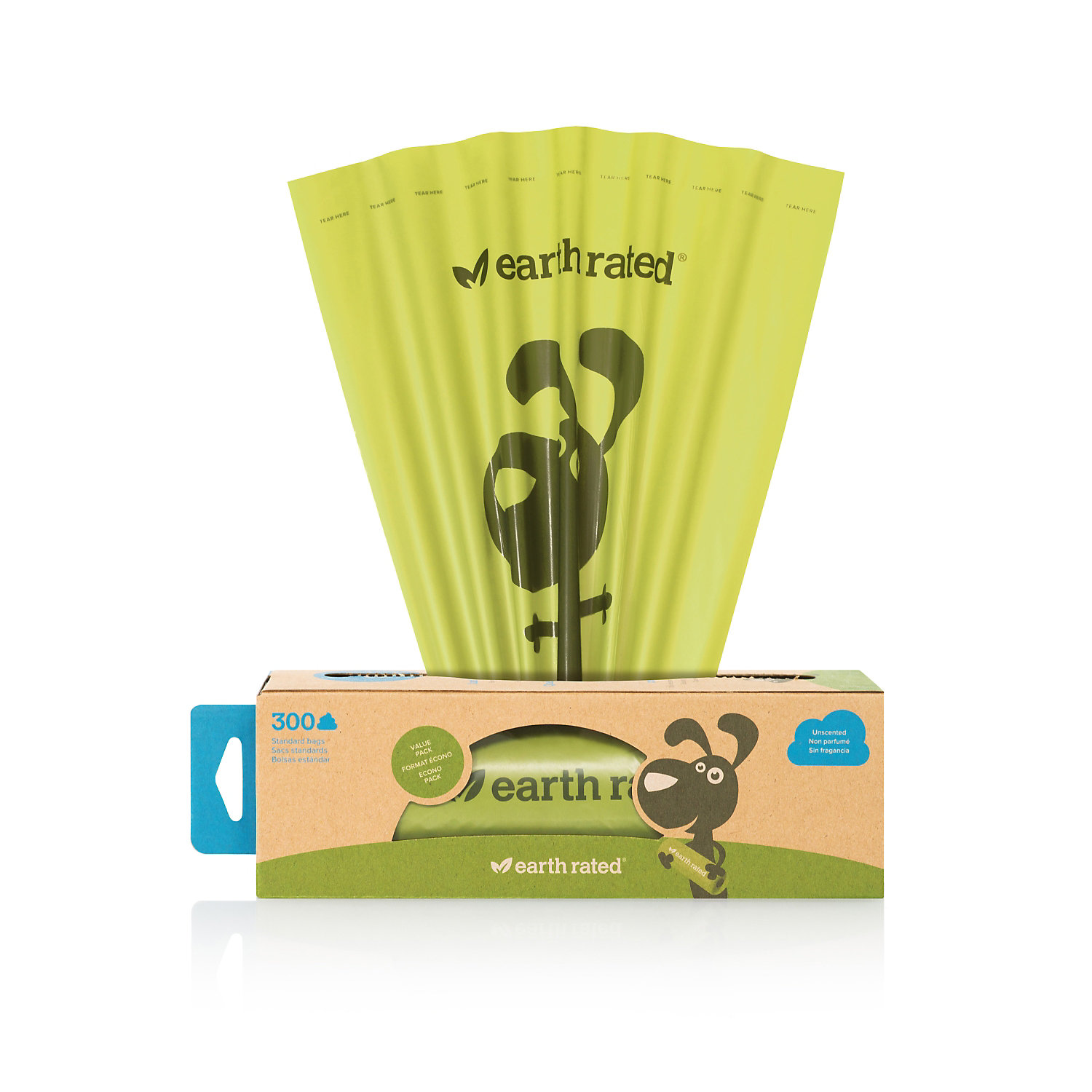 Earth Rated Unscented Poopbags Dog Waste Bags Pack Of 300 Bags