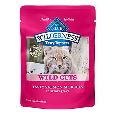 Blue Buffalo Blue Wilderness Wild Cuts Tasty Salmon Morsels Wet Cat Food